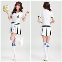 baby music classes - Aerobics Cheerleading Performing European Cup Korea AOA Same Paragraph Football Baby Class Performance Clothing