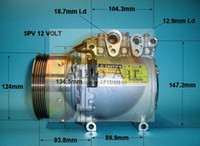 Wholesale car Air compressor MSC90C for Mitsubishi Carisma Lancer CE Mirage Colt AKC200A203B MB958178 MR189104 MR201199 ACK200A203F