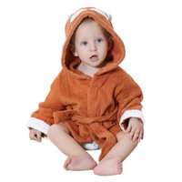 Nightgowns beautiful nightgowns - IDGIRL Cotton Hooded Beautiful Animal Style Baby Bathrobe Towel Boys Girls Pajamas Clothing JY0248