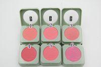 Wholesale New Makeup Cheek pop Blush Bronzer Baked Cheek Color Blusher Palette Petal Face Power GIFT