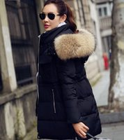 Wholesale New Winter Jacket Women Real Fur Coats Female hot sale High quality Women s Down Jackets Long Coat