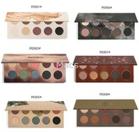 belle wear - All Series ZOEVA Eyeshadow Palette NATURALLY YOURS Smoky cocoa blend rose golden RODEO BELLE gillter matte eyeshadow palette Christma Gift