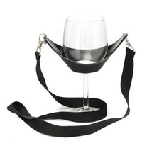 Wine Pourers Plastic ECO Friendly Hot Unique Design Wine Yoke Lanyard Glass Holder Support Straps for Mothers Day Birthday Gifts Present