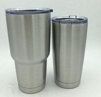 Wholesale 30 oz Cup Stainless Steel Tumbler For Travel Vehicle Beer Mug Tumblerful OZ and OZ DHL Free