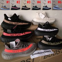 Wholesale with original box Boost Sply V2 Beluga Olive Green Black White Copper Red kanye west sneakers for men women running shoes