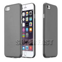 al por mayor estera de manzana-Para el iPhone 7 más el caso ultradelgado de los PP Caso colorido de Matting para el caso de la cubierta suave del iPhone 6S para el iPhone 7 con 100Pcs Paquete de OPP