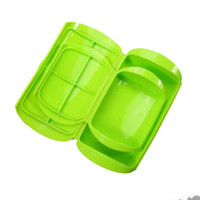 Wholesale 100 Food Grade Silicone Microwave Oven Steamer For Food Silicone Bento Box Silicone Food Container