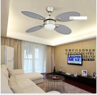 Wholesale Ceiling chandelier fan light remote control modern minimalist dining room living room retro lamp ceiling chandelier fan inch