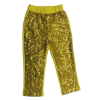Wholesale soft sequins cotton Fall girls hot sale sequin pants most popular baby gilr chic toddle sequins trousers