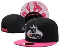 El Yo Mtv Raps Logo Snapback Sombrero Hip Hop Cap Flat Brim Snapbacks Hombres Mujeres Verano Playa Sun Sombreros Cool Al aire libre Gorras