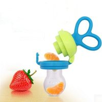 baby fruit holder - Mambobaby Baby Pacifier Clips Dummy Vegetable Fruits Sucking Nipple Soother Holder Safe Baby Feeding Pacifier Bottles Teether