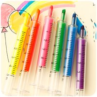 Wholesale Stationery New Styles DIY Styles Highlighter Colors Children Paintings Watercolor Notebooks Office Supplies Markers gift