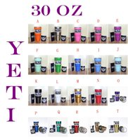 Wholesale New hot seal Yeti Cups Cooler oz Stainless Steel YETI Rambler Tumbler Cup Car Vehicle Beer Mugs Vacuum Insulated Refly