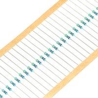Resistores de película de metal del ohmio de 1 / 4w 10KR del resistor del ohmio de 1 / 4W 10K de la Venta al por mayor-100PCS /