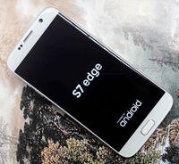 al por mayor inteligente de cuatro núcleos-DHL Free goofón S7 Edge curvado pantalla 5.5inch Android 6.0 Quad Core MTK6735 Real 4G LTE Teléfonos Celulares Mostrar octa núcleo Smart teléfono PK i7 plus