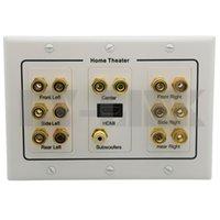 banana plug adaptor - Accessories Parts Electrical Plugs Adaptors Home Theater Surround Sound Speaker sound box Wall Plate HDMI Audio Banana
