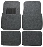 Wholesale dureQ pc Full Set Carpet Floor Mats Universal Fit Mat for Car SUV Van Trucks Front Rear Driver Passenger Seat Black