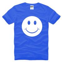 acid t shirts - 2017 new fashion Cute Acid Smiley Face Printed Mens Men T Shirt Fashion Tshirt Short Sleeve O Neck Cotton T shirt Tee