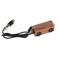 Wholesale Flanger FP Magnetic Soundhole Guitar Pickup Transducer Adjustable Tone Volume Wooden for quot quot quot quot Acoustic Guitar