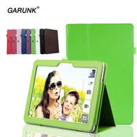 asus transformer folio case - for Asus TF103C Tablet Cover for Asus Transformer Pad TF103 Case inch Solid Leather Stand Flip Folio Protective Skin