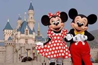 La mascota de Mickey Mouse del traje de la mascota de Mickey Mouse de los tamaños del adulto libera el envío