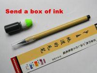 Wholesale Pc Set Soft Plush Pen Piston handwritingt Pen