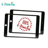 20pcs / lots Pour iPad air écran tactile Numériseur Montage verre Front Lens pièce de rechange écran tactile blanc noir DHL