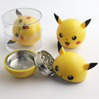 best smoking accessories - Pica circular New arrival Herb Grinder mm Best Price yellow Mull Grinders Smoking Accessory Pokeball Grinder