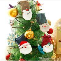 al por mayor hilados de santa-Calcetines de la Navidad del bebé Calentador niños infantiles Calcetines del terry del hilado de la pluma que espesan los niños muchacha del muchacho toalla de la historieta Calcetines de Papá Noel