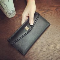 Wholesale MYRAN Cowhide Leather Phone Pocket Purse Wallet Female Holder Lady Clutch Carteira Feminina Wallet Women For Credit Cards