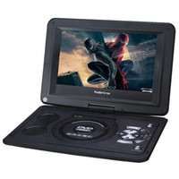 Wholesale New Koolertron TFT LED Screen Home Portable DVD Player With Card Reader USB Port Support Lecteur DVD Portable TV