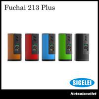 18650 best power - Authentic Sigelei Fuchai Plus Mod W Temp Control Vape Mod Powered by Dual Battery Best Match with Smok Big TFV8 BABY