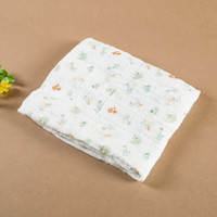 Wholesale The newborn baby blanket is holding cotton gauze scarf bamboo fiber baby infant life