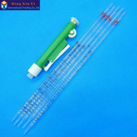 Wholesale New arrival ml manual pipette pipettor controller ml glass graduated pipette