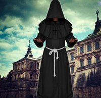 ancient middle ages - Halloween Ancient costume The middle ages Monks take Wizard clothing Just for entertainment