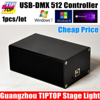 Wholesale China DMX512 Stage Light Controller Box HD512 Universal USB DMX Dongle Channels PC SD Offline Mode Martin MPC Lightjockey
