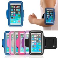 Wholesale Waterproof Sports Running Jogging GYM Armband Arm Band Belt Case Cover Holder for iPhone Mobile Phone with Key Holder