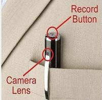 Mini Cámara espía cam Pen HD 1280x960 Cámara ocultada Micro SD Card DV DVR Video Mini videocámaras (tarjeta de 8G incluido)
