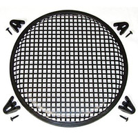 Wholesale TCOVER hot sale quot Black plastic Audio Speaker Sub Woofer Grill Cover with Clips and Screws DJ CAR HOME