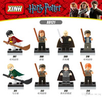 Wholesale magic school Harry Potter male Mini digital building blocks building blocks sets child Voldemort Ron Hermione