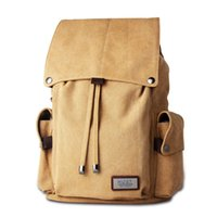 Wholesale Reamic Canvas Backpack large capacity backpack student outdoor bag Both shoulders Backpacks sports outdoor packs for men and women