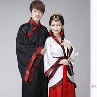 Wholesale Chinese Traditions China s National Costume Tang Dynasty Clothing Men and Women Clothing Photography Performance Clothing