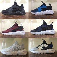 Wholesale Discount Running Shoes New Color Huarache Men Women Best Quality Triple Shoes Wallace Sports Shoes Size
