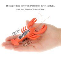 Wholesale New Arrival Magic Solar Powered Lobster Insect Kids Solar Toys Cute Toys For Children Solar Lobster