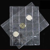 Wholesale Pages Pockets Classic Coin Holder Sheet Storage Collection Money Album Case Tool Case