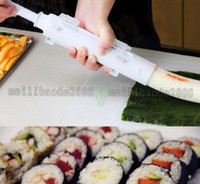 bamboo sushi roll mat - Camp Chef Sushezi Roller Kit DIY Sushezi Sushi Bazooka Best Selling Cooking Tools Fashion Easy to Use Sushi Tools Cheap Sale MYY