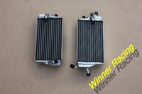 Wholesale R L MM ALUMINUM ALLOY RADIATOR FOR HONDA CR125R STROKE water box motorcycle replacement parts engine cooling parts