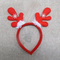Wholesale Christmas Day Christmas Supplies Party Kid Toy Cosplay Head Band Performing Costume
