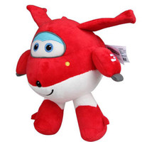 airplane gift bags - cm Cotton Super Wings Jett Plush Toy Cute Super Wings Airplane Robot Stuffed Plush Soft Toys Gift with Opp Bags