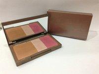 Wholesale foundation highlighter makeup Naked Eyes Make Up blusher Flushed Bronzer Highlighter Blush in DHL g